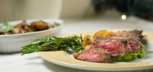 Striploin steak entrecote