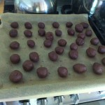 Chocoladetruffels in wording
