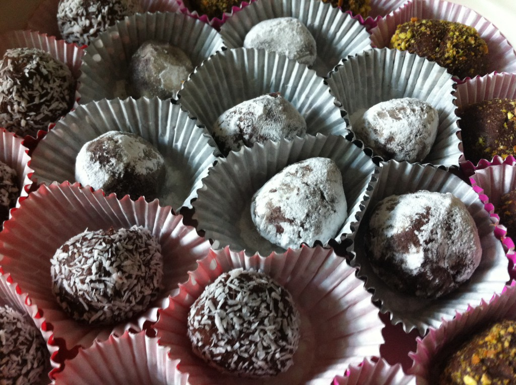 Chocoladetruffels en bonbons