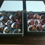 Kistje met bonbons