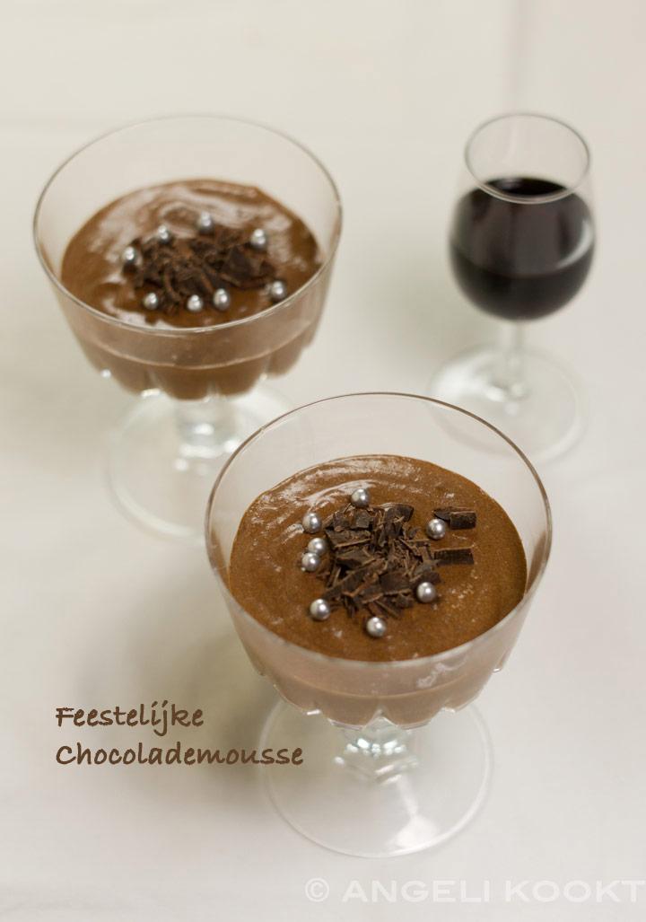 Chocolademousse met pedro ximenez