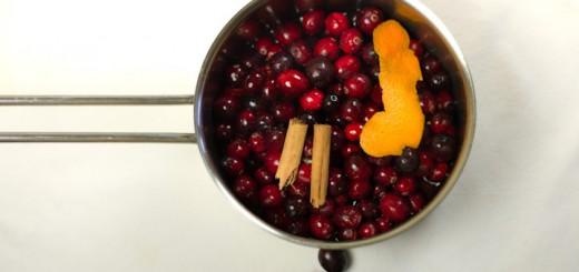 Cranberrycompote-maken