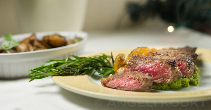 Striploin steak entrecote