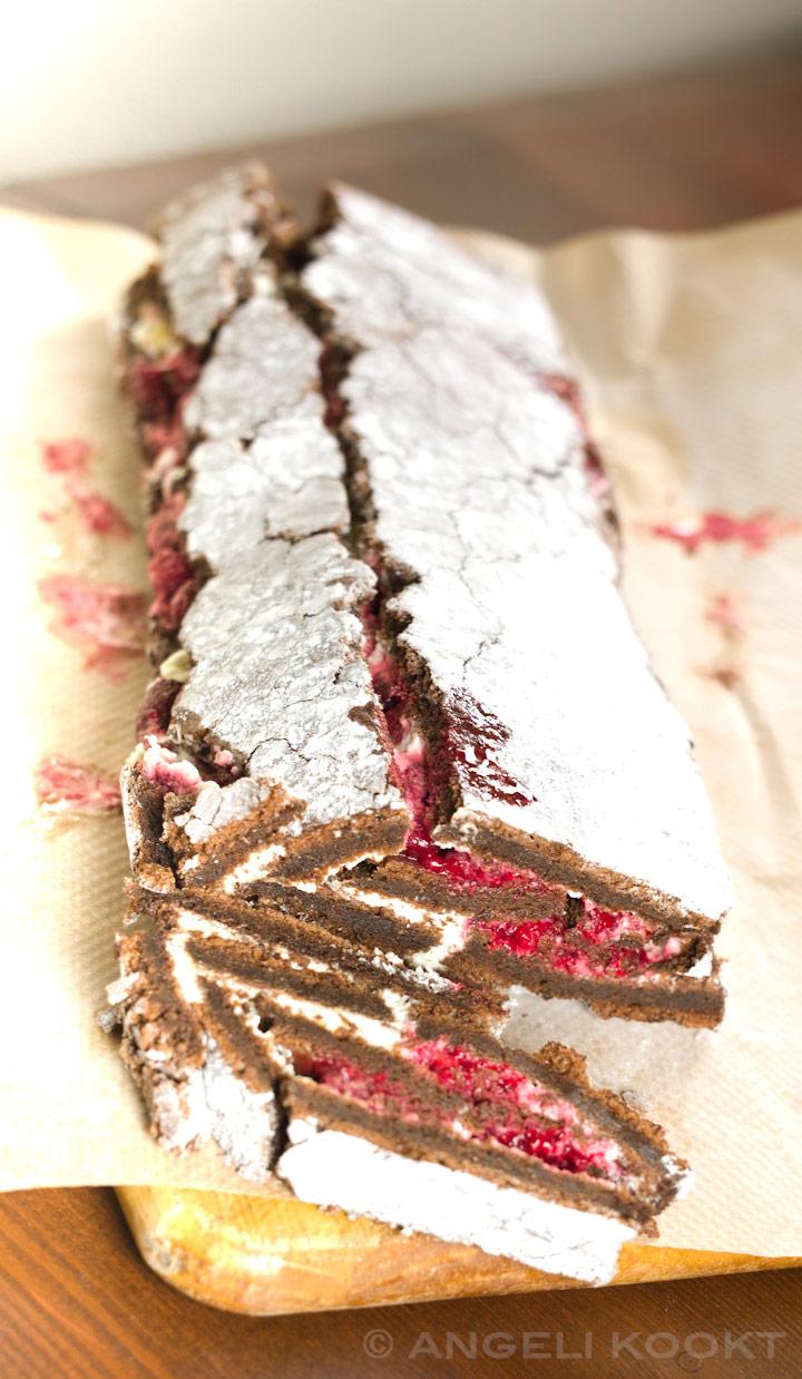 Chocolade boomstamcake