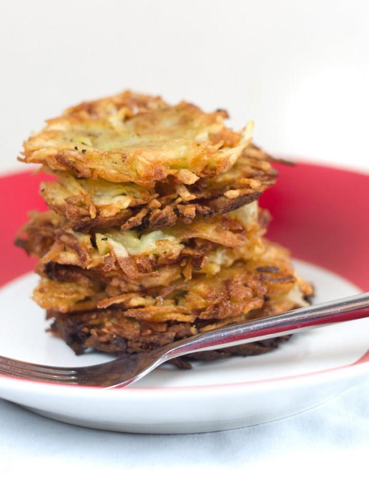 Rosti rondjes | aardappelkoek