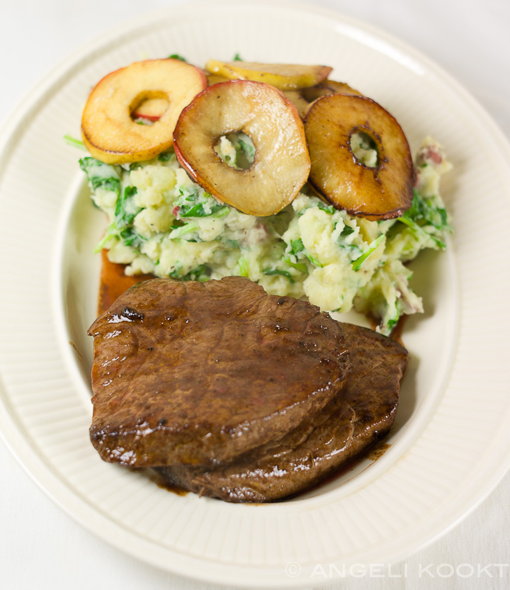 Biedstuk met steakbonbon