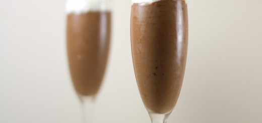 Chocolade Bananenmousse