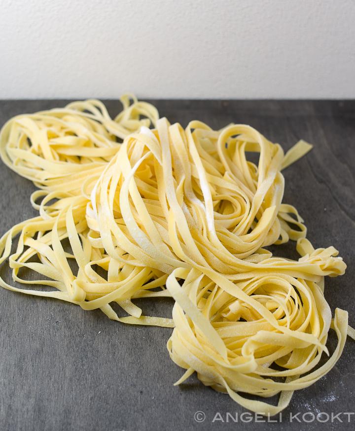 Tagliatelle pasta zelf maken