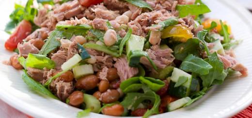 Bonen tonijnsalade