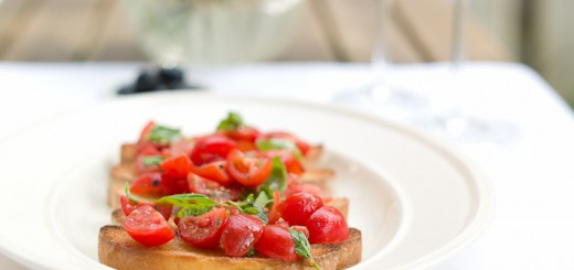 Bruschetta met tomaatjes