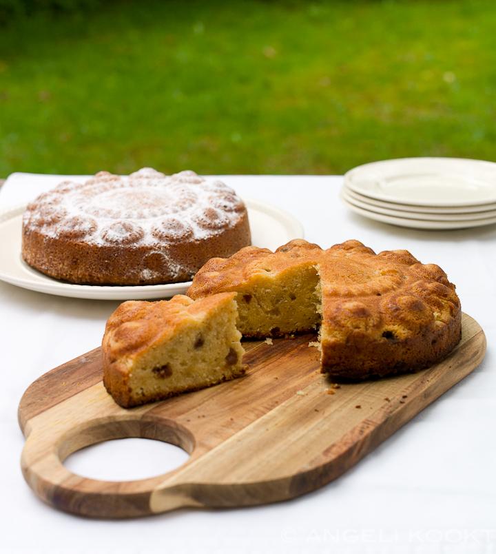 Sinaasappelcake en appelcake met boerenjongens
