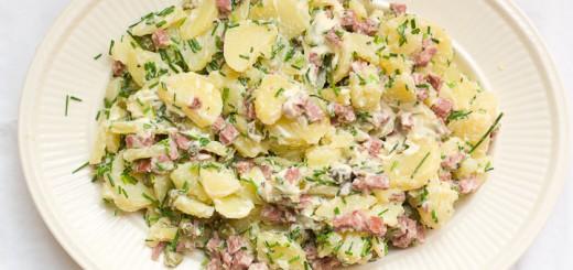Aardappelsalade met bieslook