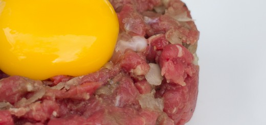 Steak tartare of Duitse biefstuk