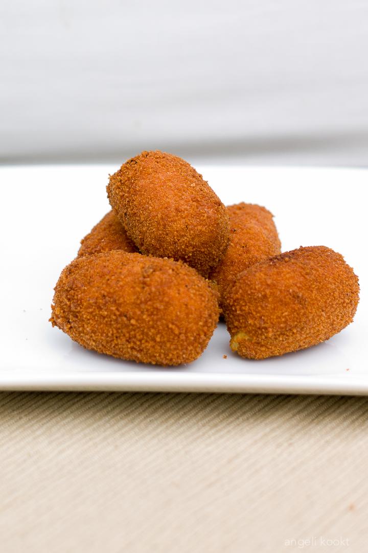 Zoete aardappelkroketjes