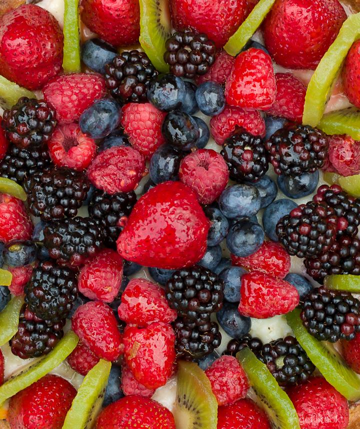 Zomerfruittaart