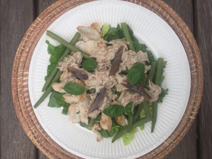Kip Tonnato salade