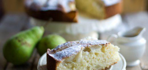 Perencake met caramelsaus Angeli Kookt
