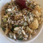 Rode bietensalade met appel en feta